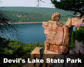 Devil's Lake State Park Wisconsin