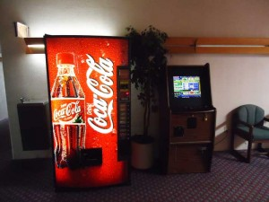 games Vending machines hotel wi